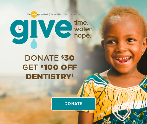 Donate $30, Get $100 Off Dentistry - Tiny Town Smiles Dentistry and Orthodontics